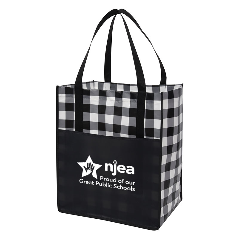 White-Northwoods-Laminated-Non-Woven-Tote-Bag